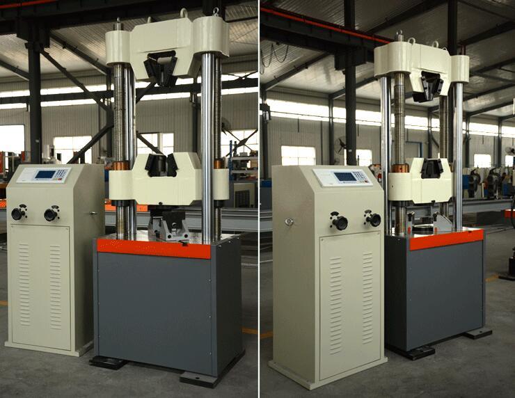 WE-1000B数显式液压万能试验机
